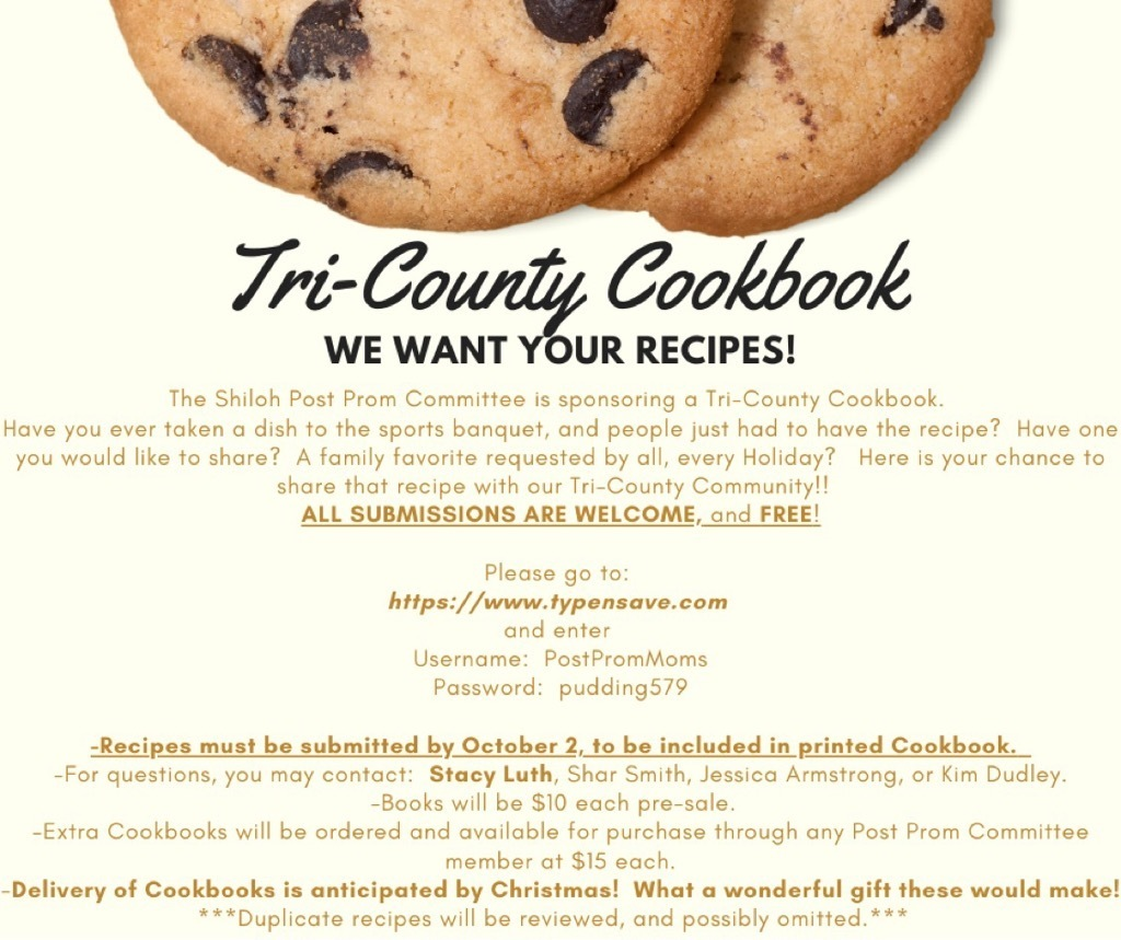 Tri-County Cookbook