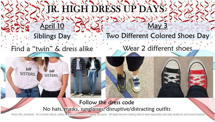 april may dress up days