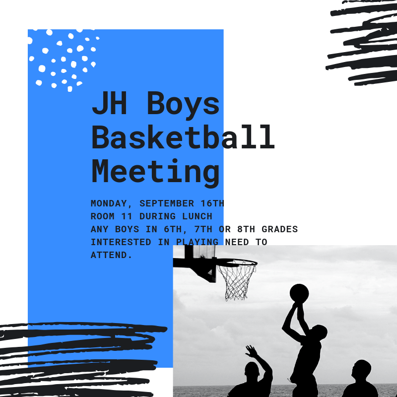 JH Basketball meeting