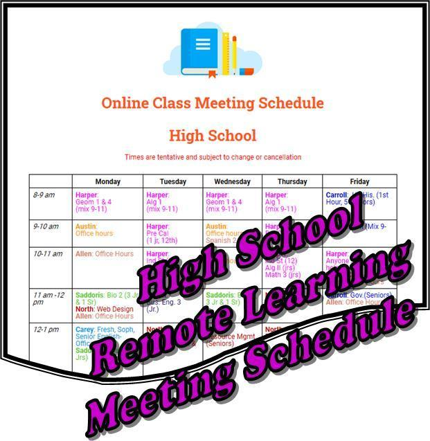 High School Remote Learning
